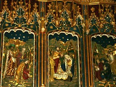 York Minster Nativity Reredos Lady Chapel by G.F. Bodley 1923 (DominusVobiscum) Tags: christmas sculpture art religious saints churches cathedrals nativity