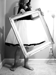 Explored! (Brittany Lin Wood) Tags: ballet girl dance child dress dancing little young picture skirt frame pout tutu childish pictureframe