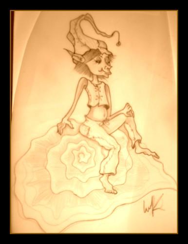 tatuaje dibujo.  el boceto de mi tatuaje. dibujo