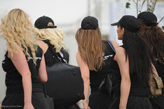 Silverstone Grid Girls (Si 558) Tags: girls hot beautiful race grid women legs gorgeous blondes racing queens silverstone babes motor