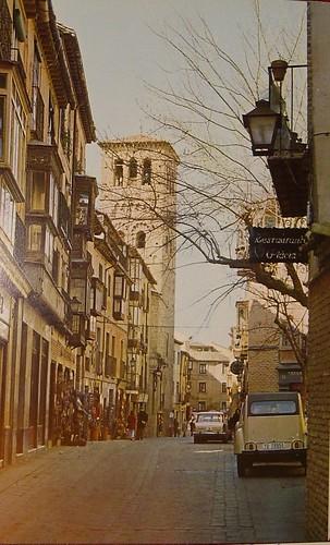 Calle d eSanto Tomé, Toledo, en los años 60