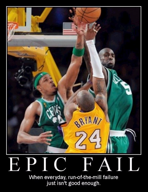 Epic  Fail poster