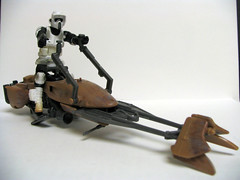 TB101 (slidercleo) Tags: toy actionfigure starwars endor 501stlegion bikerscout scouttrooper speederbike