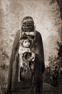 Mapuche Woman and Child