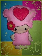 Freshia de Onix en Fieltro (PrenD-T) Tags: cute sweet handmade felt kawaii blythe feltro hechoamano onix fieltro freshia prendt