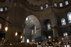 Blue Mosque Wing