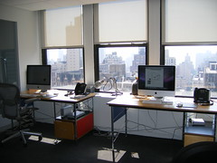 Jeffrey and Jason's desks (Jeffrey) Tags: new nyc newyorkcity newyork digital studio design office code manhattan events 5thavenue content move webdesign special agency ia developers online fifthavenue studios interactive strategic publishing html ux flatiron offices 5thave partners interaction designers webdevelopment userexperience zeldman madisonsquare webcontent happycog coders webdevelopers rogerblack webpublishing hcny contentstrategy daniloblack publshers webevents happycognewyork rogerblackinc