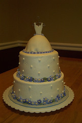 Lavender Bridal Shower Cake