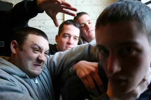 Devlin Being Strangled By OT Crew