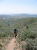 Wolftone creek descent (GaryColet) Tags: sun creek idaho trail valley singletrack wolftone sescent