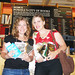 Daph and Kate at Powells