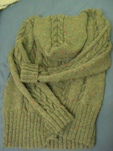 knit nutt: Central Park Hoodie - Finished!