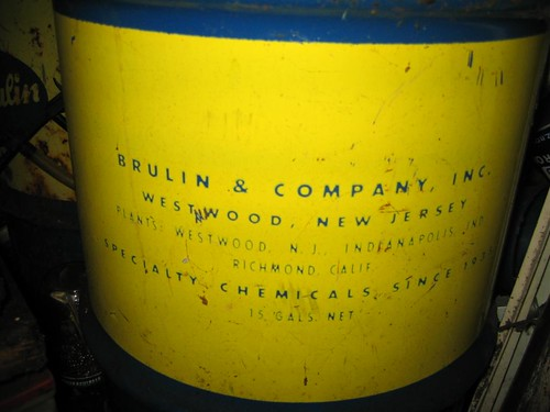 Brulin and Company chemical drum