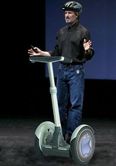Steve Jobs on Segway