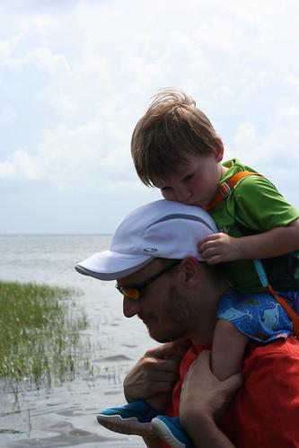 Sam and Daddy, St Joseph's Peninsula Park