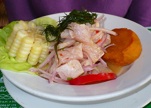 Ceviche at Sonias