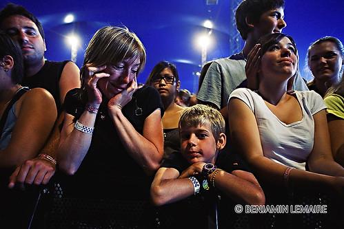 Maxime et sa maman @ Paléo Festival 2008