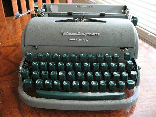 "Remington Quiet-Riter, aka ""Moses"" c. 1952"