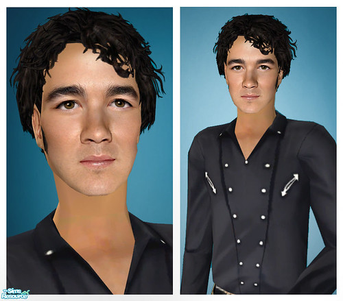 Kevin Jonas As A Sim! by Amy Loves Nick :D.