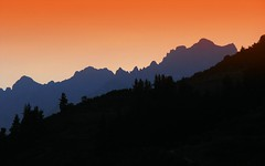 Picos de Europa (the44mantis) Tags: sunset sky mountain forest spain peak ridge explore espana cantabria picos potes