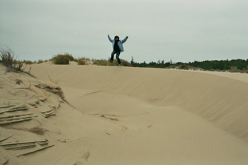 sand dunes near florence, oregon