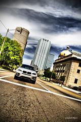 X6 @ Tampa (crashmattb) Tags: skyline campus tampa automobile downtown cityscape florida bmw plugin universityoftampa x6 canoneosdigitalrebelxti platinumphoto anawesomeshot sigma1770mmf2845dc adobephotoshopcs3 diamondclassphotographer flickrdiamond redynamix dcetools medichance
