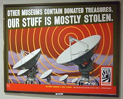 Spy Museum_Poster-2 (catface3) Tags: orange art museum washingtondc dc metro advertisement posters subwaystation olivegreen spymuseum disguises catface3