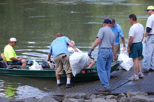 River Run Garbage Grab 2008
