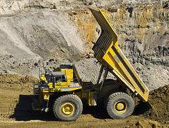 830e raised (dalinean) Tags: west cat mine open cut large sigma australia mining caterpillar huge machines coal sd10 griffin quarry komatsu immense 830e collieaustralia