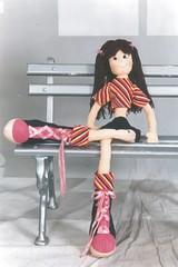 Boneca Lívia - A47 (Moldes videocurso artesanato) Tags: boneca lívia a47