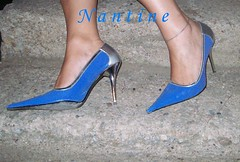 Blue - silver pumps 3 (Kwnstantina) Tags: sexy feet female fetish silver greek foot women toes pumps highheels legs sandals arches stiletto soles footfetish anklet sexylegs stileto stilletto sexyshoes heeled higharches feale highheeledpumps highheelspumps  womaninspikeheels bleustilletto