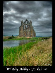 Whitby Abby 2 (Vic Nic) Tags: old pool grass clouds reflections coast ancient ruins harbour yorkshire abby stormy coastal whitby monastry fishingport supershot golddragon abigfave platinumphoto theunforgettablepictures overtheexcellence goldstaraward rubyphotographer