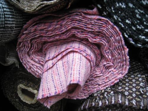 Pink Stripe at Mood Fabrics