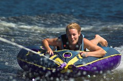 Alissa on the tube