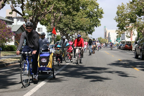 Alameda Bicycle's Family Ride