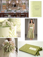 Wedding Wednesday- Old-World Sage and Ivory Wedding (Tastefully Entertaining) Tags: flowers wedding party lace ivory sage invitation tablesetting entertaining guestbook bridesmaiddress bridalbouquet weddingwednesday receptiondecor tastefullyentertaining weddingcaek