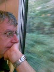 Peter on the train today