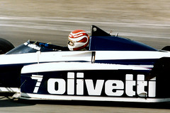 Nelson Piquet Brabham BT55 F1 1985 European GP Brands Hatch (Antsphoto) Tags: uk slr class