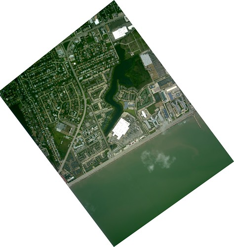 satellite photo of galveston