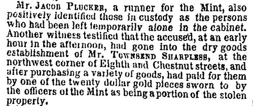 Mint Cabinet Robbery 1858