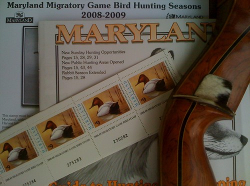 Maryland Hunting Licenses