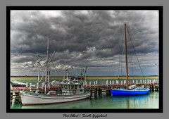 Port Albert (Ric0p - Lost the Flickr spark) Tags: sea clouds boats coast australia fabulous portalbert southgippsland golddragon colourartaward