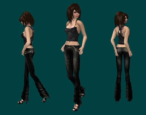 Zaara - Jeweled Jeans