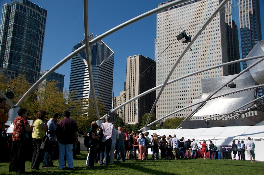 Chicago Gourmet Tasting Area