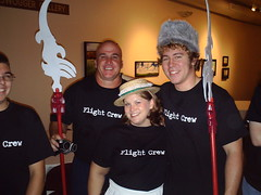 """The Flight Crew of """"The Wizard of Oz"""" in Wamego, Kansas"""