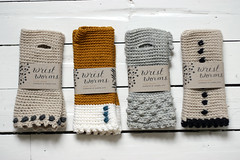 (sandra juto) Tags: wool shop handmade crochet yarn wristwarmers deluxeedition wristworms