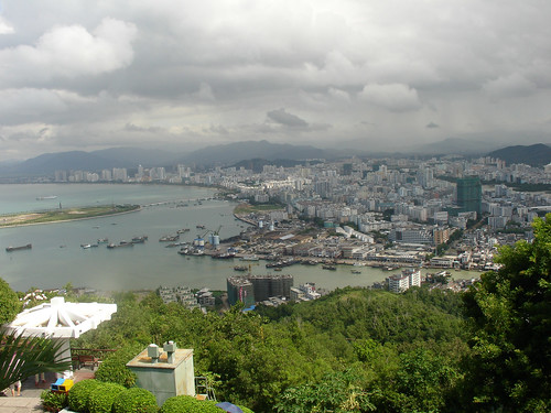 Storm Over Sanya: View From Lu Hui Tou Park