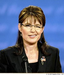 Sarah Palin has the wink