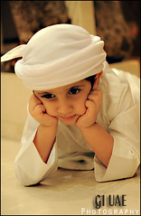 ( Maitha  Bint K) Tags: portrait child uae thinking g1