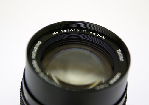 Vivitar/Komine 135mm f/2.8 1:2 macro